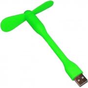Mini Ventilador Flexível USB Verde