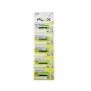 Pilha Alcalina Flex 23A 12V Cartela com 5 unidades