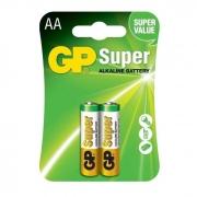 Pilha GP Super Alcalina AA 1.5V com 2 Unidades