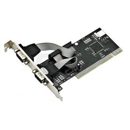 Placa Pci Serial RS-232 DB-9 2 Portas Low Profile