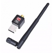 Receptor WiFi USB 1200Mbps c/ Antena