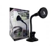 Suporte Veicular de Smartphone Magnético c/ Ventosa XC-SP14