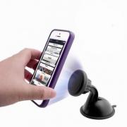 Suporte Veicular de Smartphone Magnético Universal c/ Ventosa ###