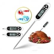 Termômetro Culinário Digital Espeto Para Alimento Cozinha###