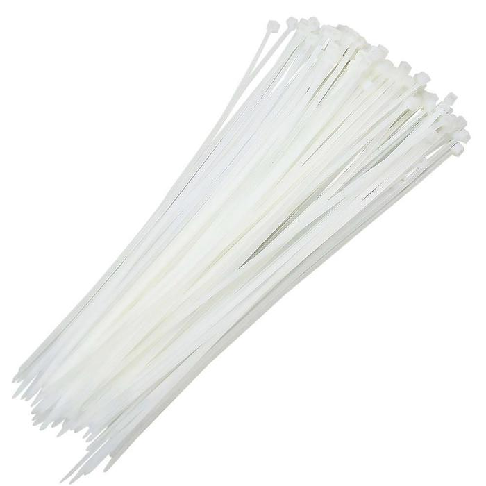 Abraçadeira de Nylon 2,5 x 100mm c/100 peças branco