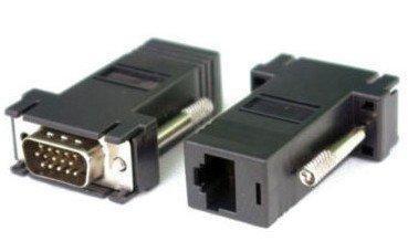 Adaptador VGA (M) X RJ45 (F)