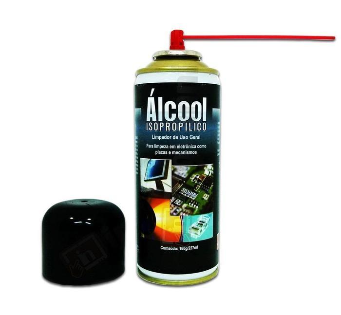 Álcool Isopropílico Aerossol 227ml Implastec