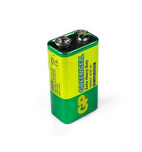Bateria Alcalina 9V GP Greencell Blister C/ 1
