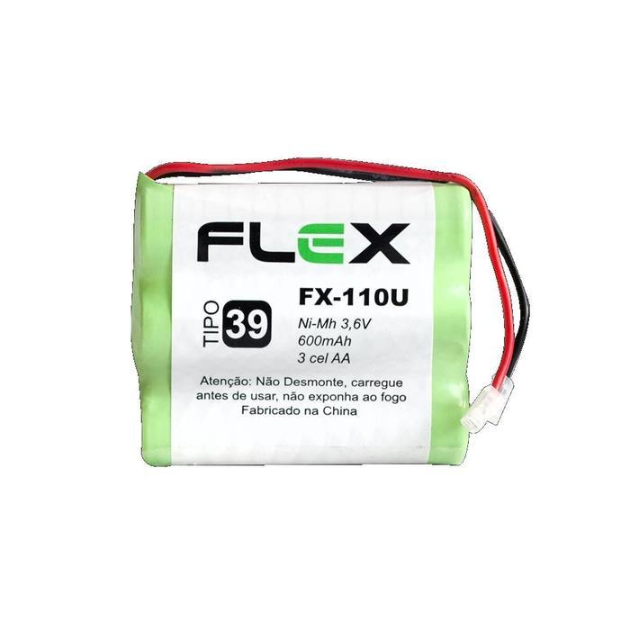 Bateria Recarregável p/ Telefone Sem Fio 3,6V 600mAh FX-110U