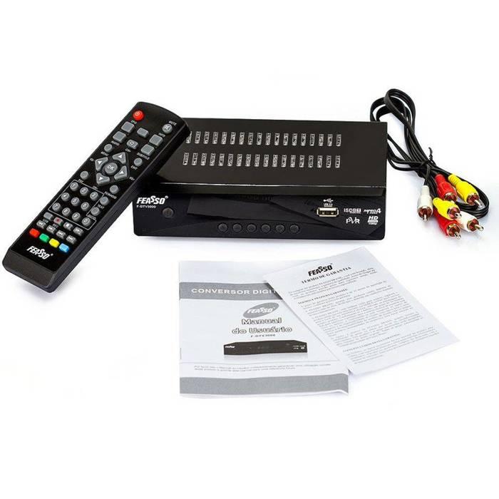 Cabo Conversor Vídeo Composto 3RCA AV X HDMI