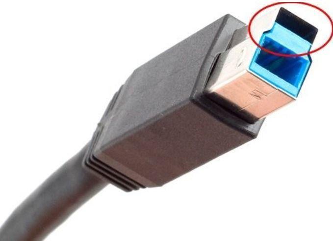 Cabo USB AB padrão 3.0 1m*