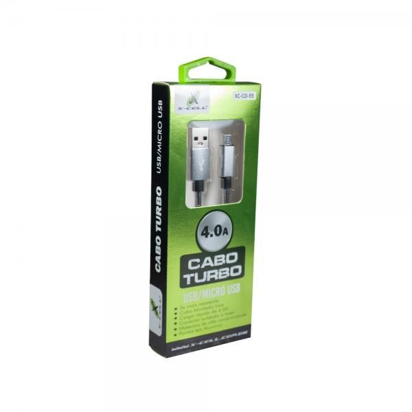 Cabo USB Tipo C Turbo 1m Mola X-Cell