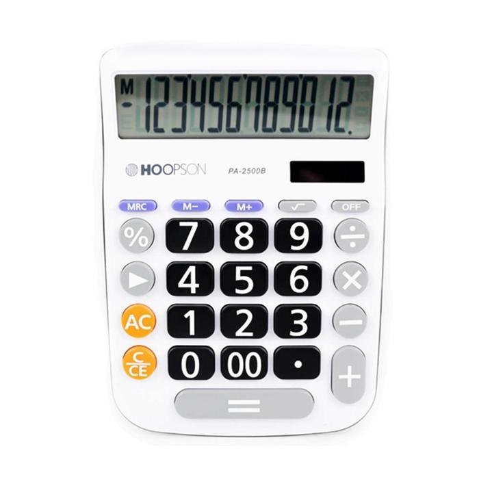 Calculadora de Mesa PA-2500B Hoopson