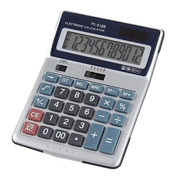 Calculadora de Mesa PS-018B Hoopson