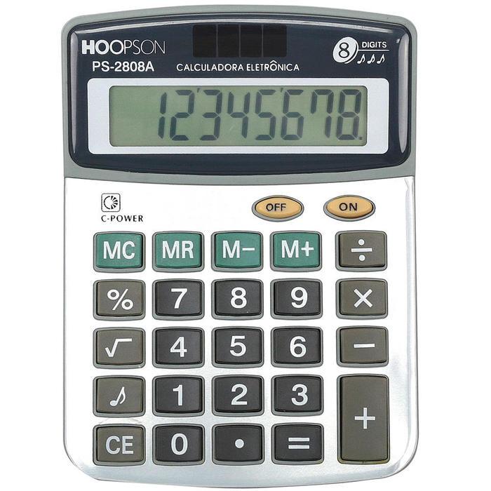 Calculadora de mesa PS-2808A Hoopson*