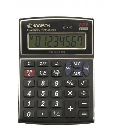 Calculadora de Mesa PS-9368A Hoopson