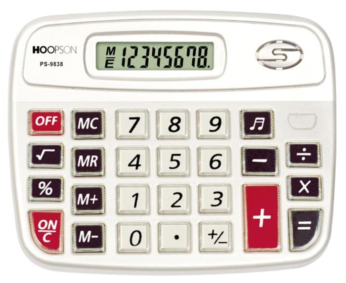Calculadora de mesa PS-9838 Hoopson