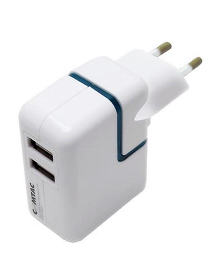 Carregador de Tomada e Veicular 2 USB Comtac*
