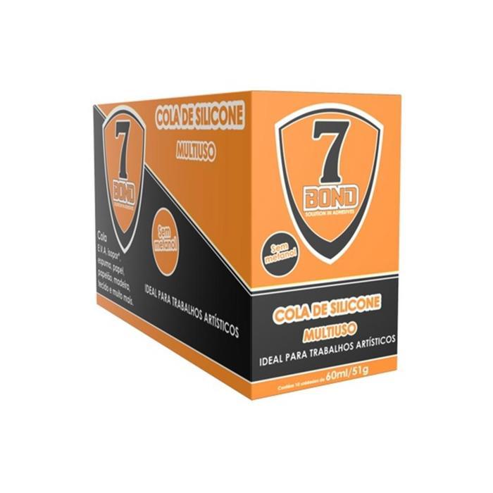 Cola de Silicone 7 BOND Sem Metanol 60ML/51g