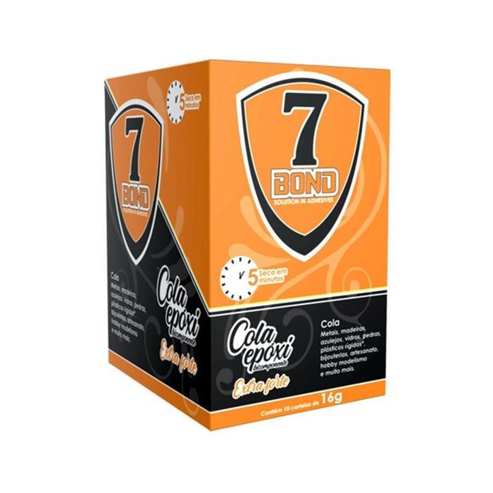Cola Epoxi Bicomponente 7 BOND Extra Forte 16G