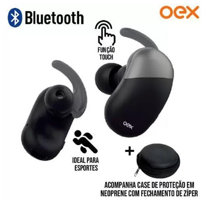 Fone de Ouvido Bluetooth Dot TWS-30 c/ Case OEX###