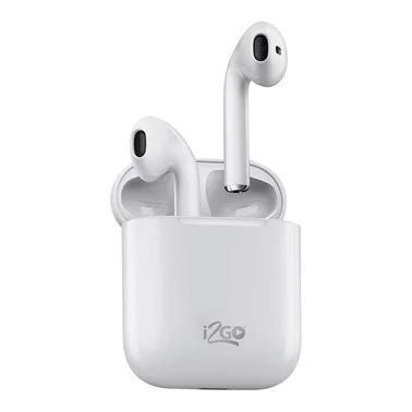 Fone de Ouvido Bluetooth Sem Fio TWS Air Sound Go i2GO com Estojo de Carregamento i2GO Plus###