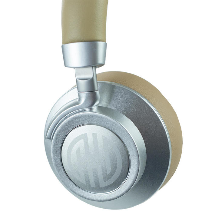 Fone de Ouvido Headphone Bluetooth P2 Micro SD FM Hoopson Bege