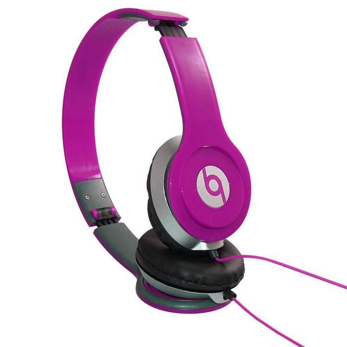 Fone de Ouvido Headphone P2 Super Bass Rosa###