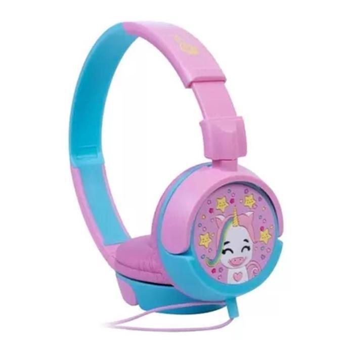Fone De Ouvido Headphone Unicórnio Infantil OEX###