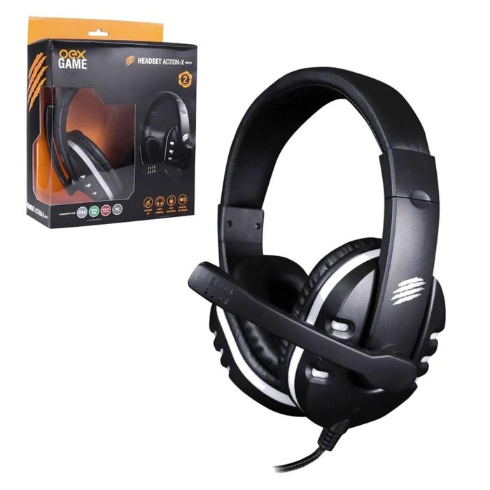 Fone Headset Gamer Action-X P3 c/ Microfone OEX###