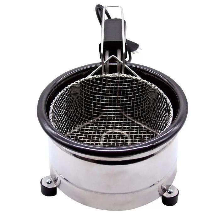 Fritadeira Elétrica C/ Óleo 127V Esmaltada Tacho 2L