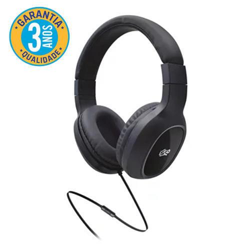 Headphone Bass Go I2GO 1,2m Preto - I2GO Plus*