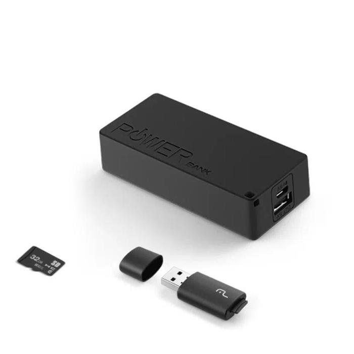 Headphone Bluetooth + Power Bank + Micro SD 32GB Multilaser###