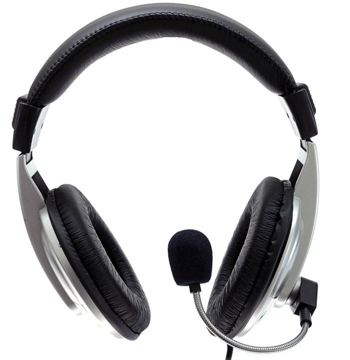 Headphone Headset c/ Microfone Hoopson F014