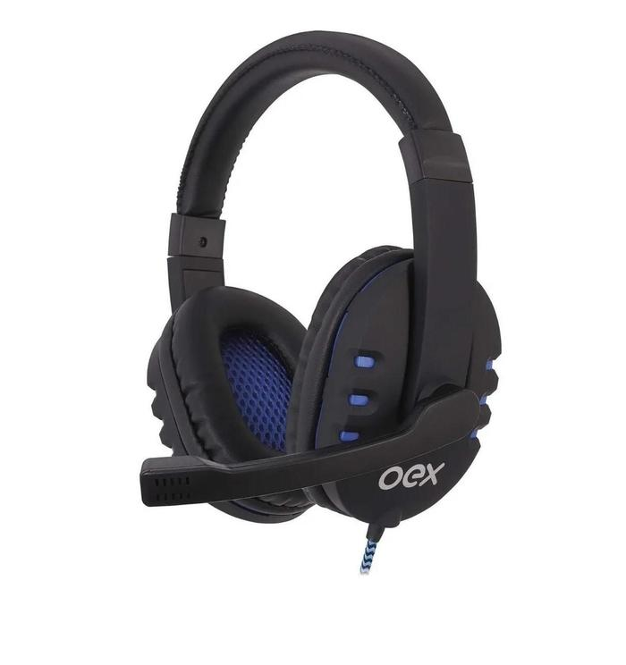 Headphone Headset Gamer Bit USB c/ Microfone e Multimídia OEX###