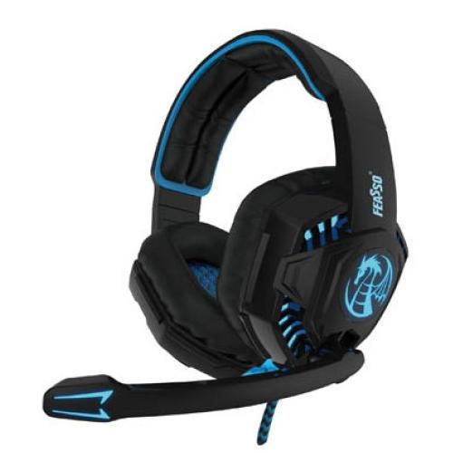 Headphone Headset Gamer P2 c/ Microfone e LED