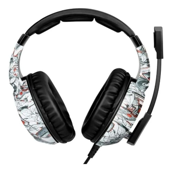 Headphone Headset Gamer P3 c/ Microfone Onikuma Branco/RGB