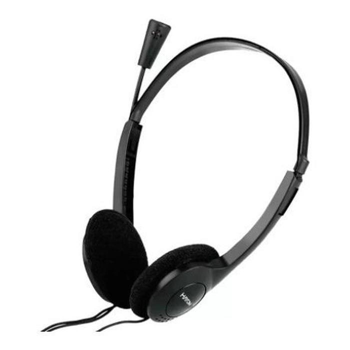 Headphone Headset Preto c/ Microfone Hayom HF2213
