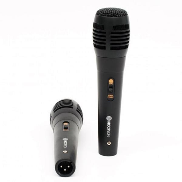 Microfone Dinâmico Unidirecional c/ 2 Unidades 3m MIC-001###