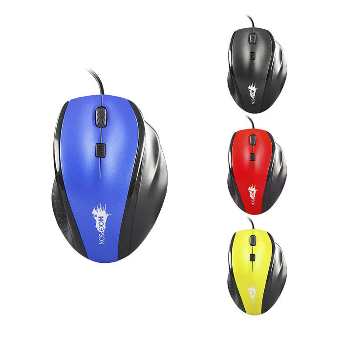 Mouse Gamer 1600dpi USB Gamer Hoopson MS-059###