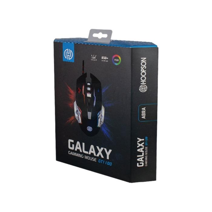 Mouse Gamer 2400dpi 6 Botões RGB GT-1100 Hoopson###