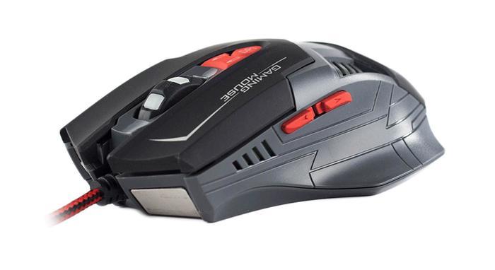 Mouse Gamer 2500dpi 8 Botões c/ Botão duplo GX-800 Hoopson*