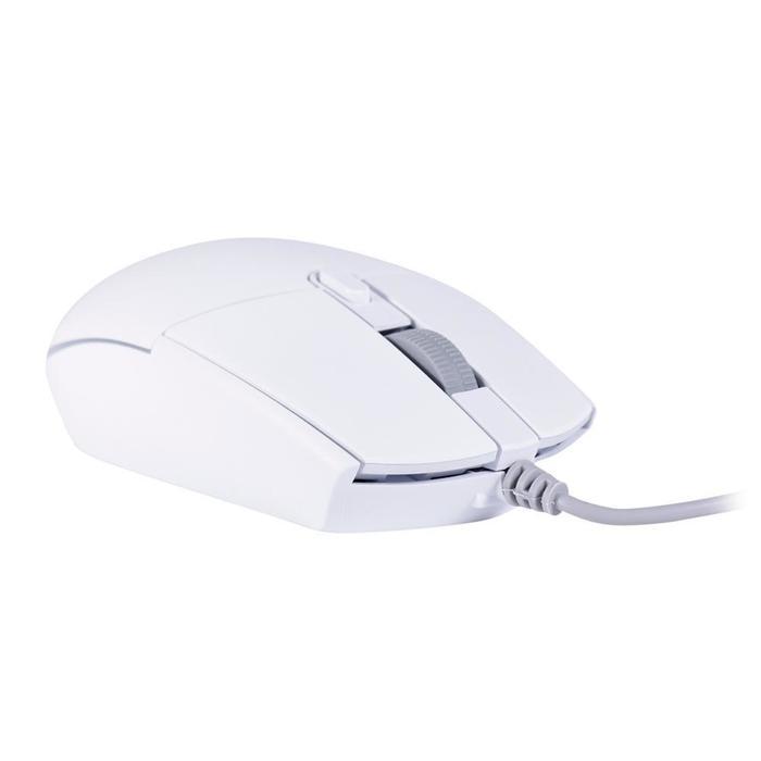 Mouse Gamer 3200DPI 6 Botões Orium Branco OEX###
