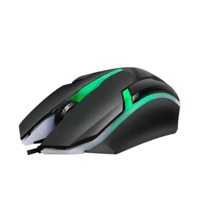 Mouse Gamer Óptico USB 1000dpi RGB Hayom MU2908###