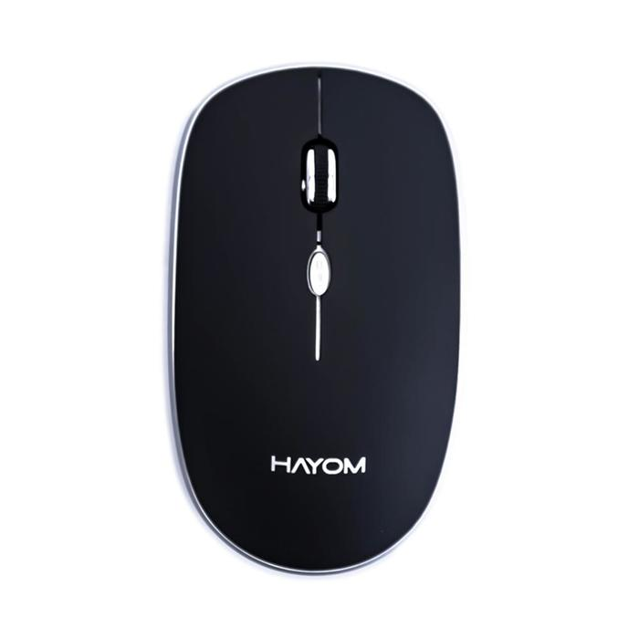 Mouse Óptico Sem Fio Wireless 1600DPI Hayom 2.4g MU2913