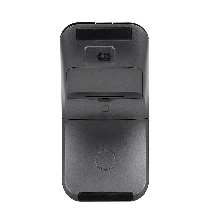 Mouse Óptico Sem Fio Wireless Giratório Ultrafino Penton 2,4Ghz Cinza