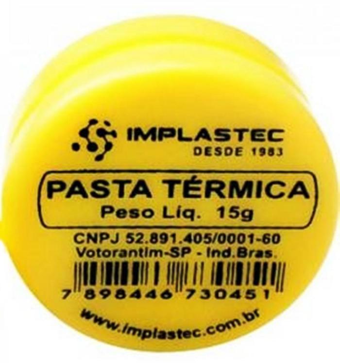 Pasta Térmica 15g Implastec