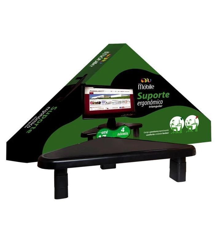 Suporte Ergonômico para Monitor Triangular###