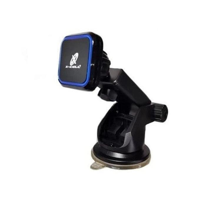 Suporte Veicular de Smartphone Magnético c/ Ventosa XC-SP15