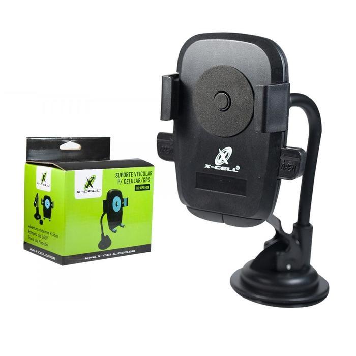 Suporte Veicular de Smartphone Universal com Ventosa X-Cell